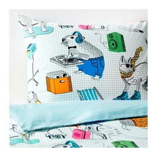 FLICKÖGA Funda nórd y funda para almohada, blanco, multicolor - Últimas unidades en IKEA L'Hospitalet