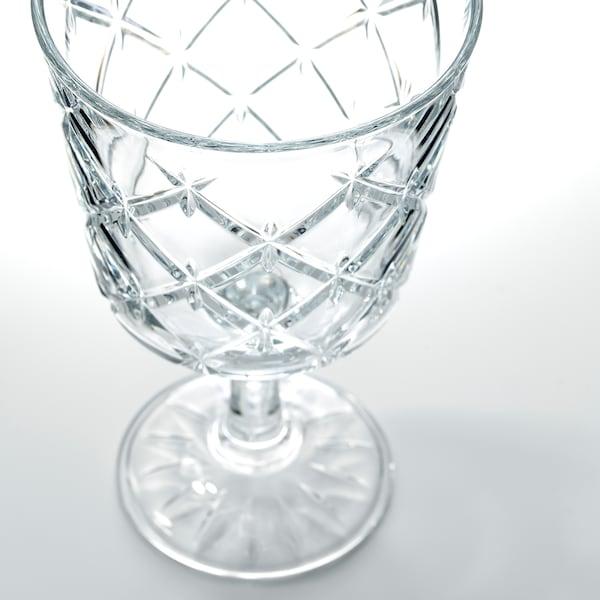 FLIMRA copa vidrio incoloro/con motivos 13.7 cm 23 cl