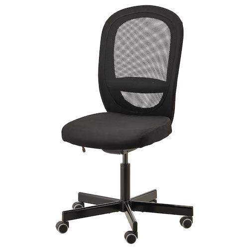 FLINTAN silla de trabajo Vissle negro 110 kg 74 cm 69 cm 102 cm 114 cm 47 cm 48 cm 47 cm 60 cm