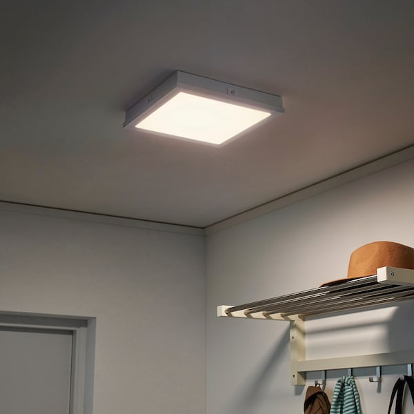FLOALT Panel ilumLED, regulación intensidad luminosa/espectro blanco, 30x30 cm