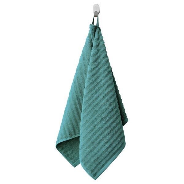 FLODALEN toalla de mano azul/verde 700 g/m² 100 cm 50 cm 0.50 m²