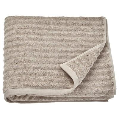 FLODALEN Toalla de baño, beige oscuro, 70x140 cm