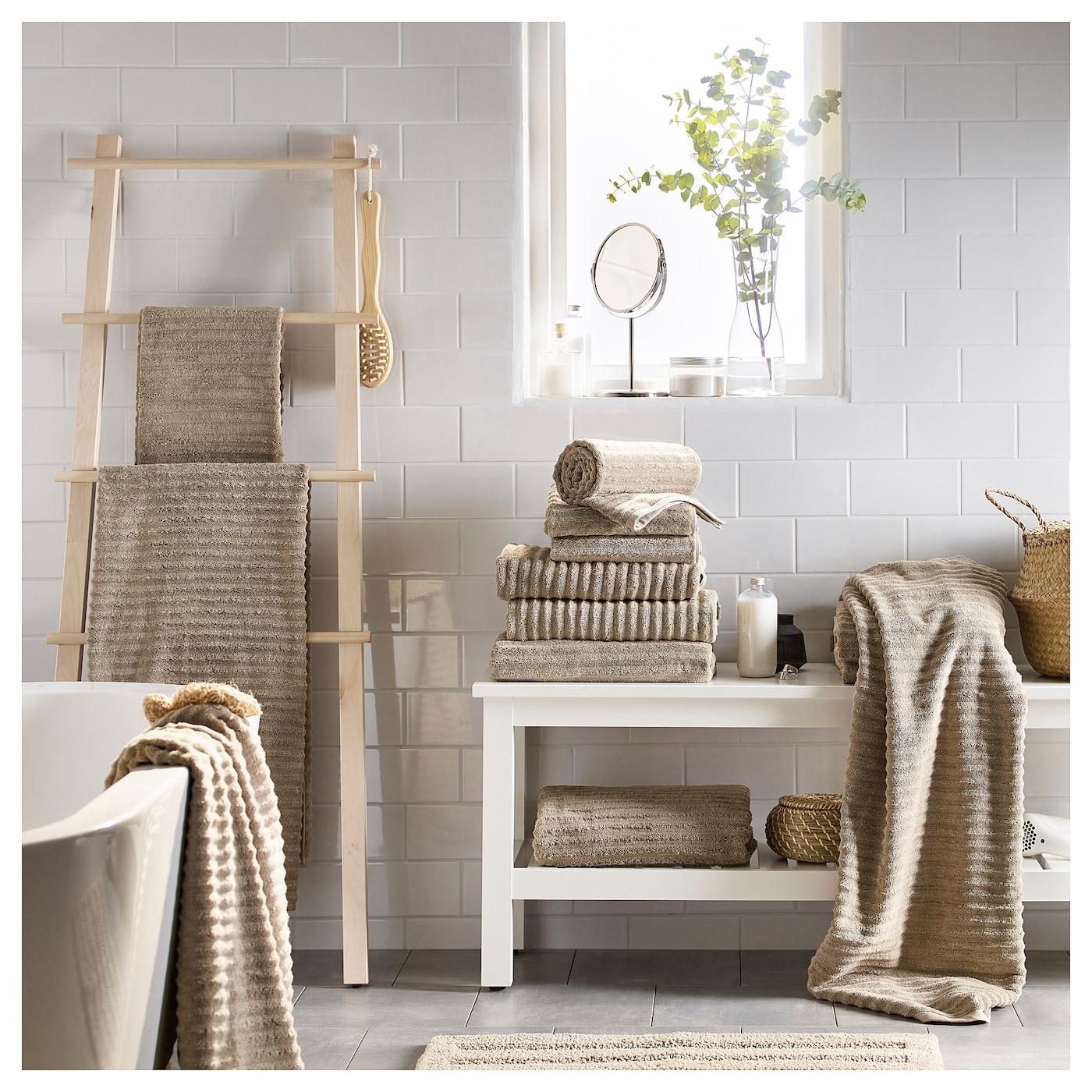 Flodalen toalla de ba o beige 70 x 140 cm ikea - Toallas de bano ikea ...