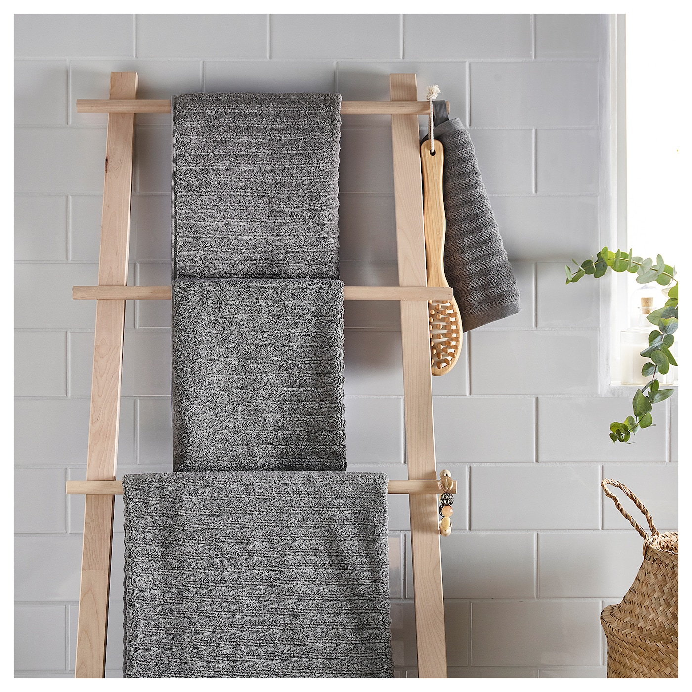 Flodalen toalla de ba o gris 100 x 150 cm ikea - Toallas de bano ikea ...
