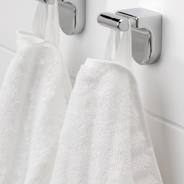 FLODALEN Toalla de mano, blanco, 50x100 cm