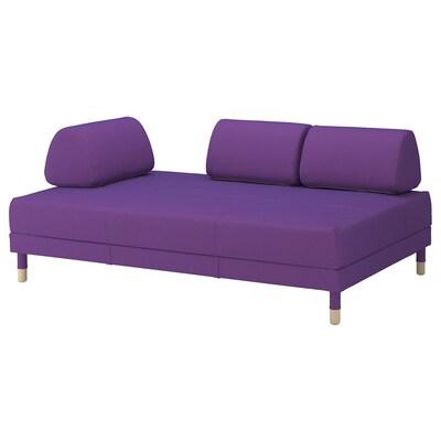 FLOTTEBO Sofá cama, Vissle púrpura, 120 cm