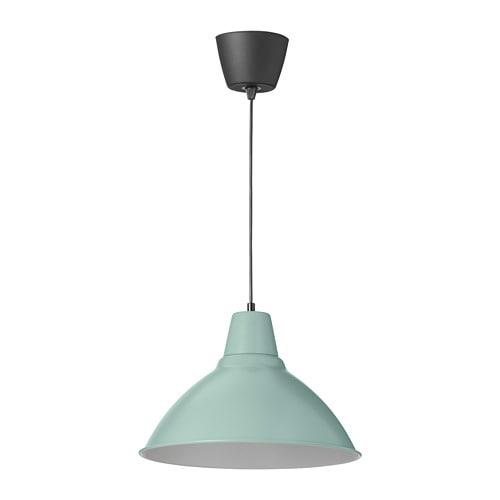 Foto Lampara De Techo Verde 38 Cm Ikea