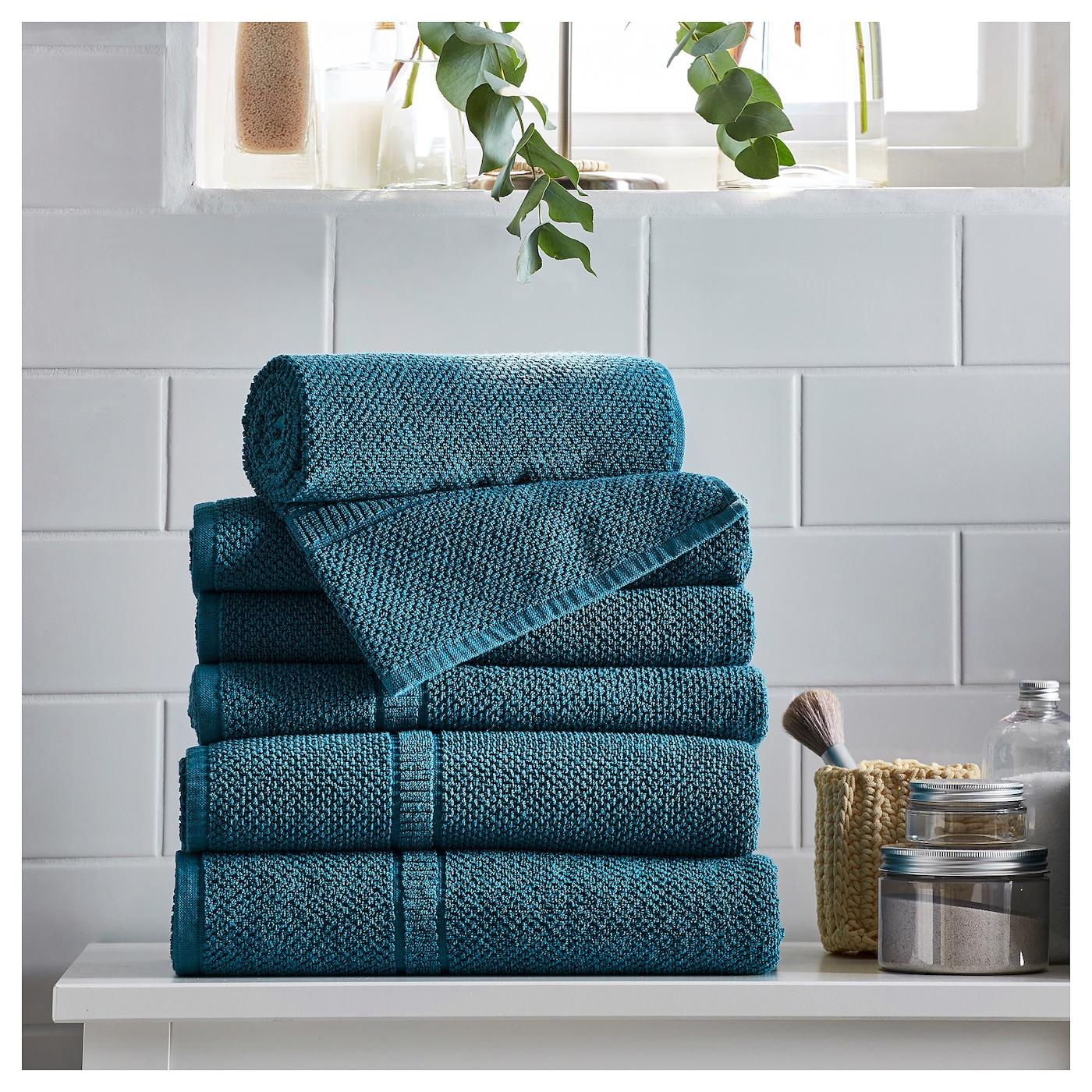 Fr jen toalla de ba o azul verdoso 70 x 140 cm ikea - Toallas de bano ikea ...