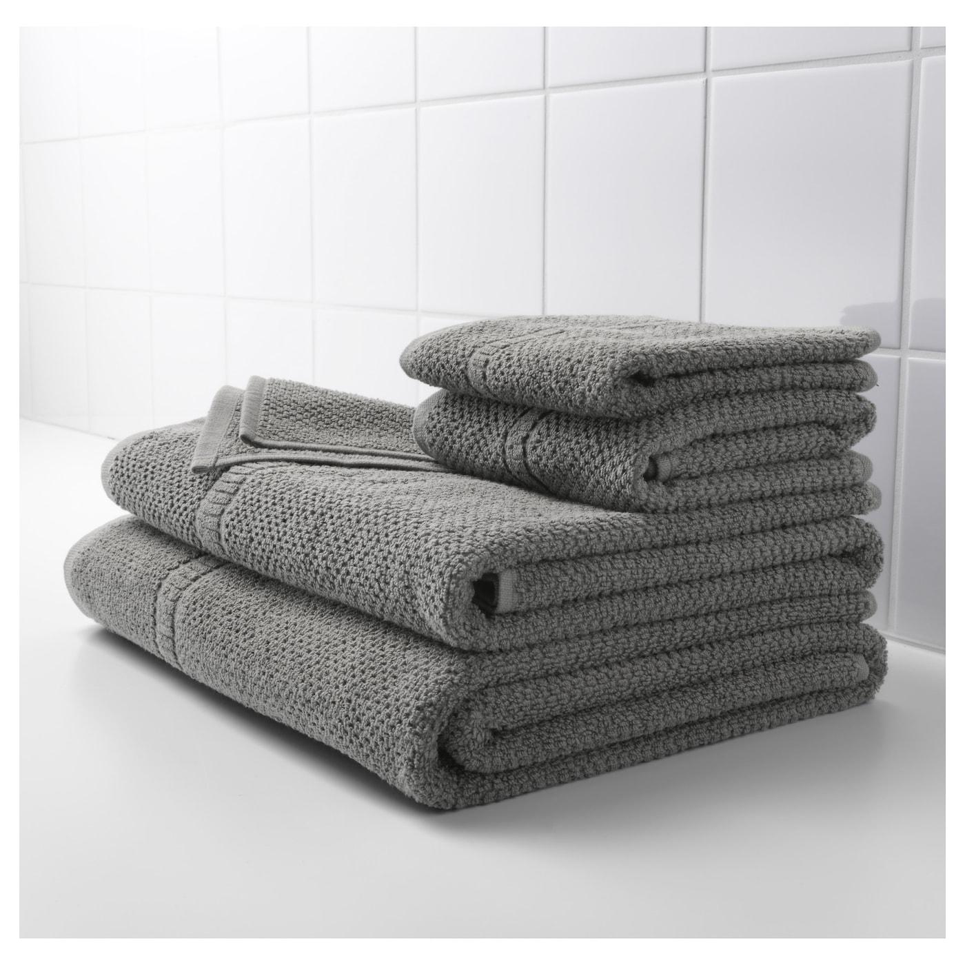 Fr jen toalla de ba o gris 100 x 150 cm ikea - Toallas de bano ikea ...