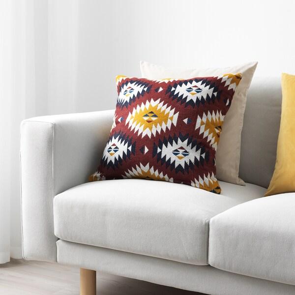 FRANSINE Funda de cojín, multicolor, 50x50 cm IKEA