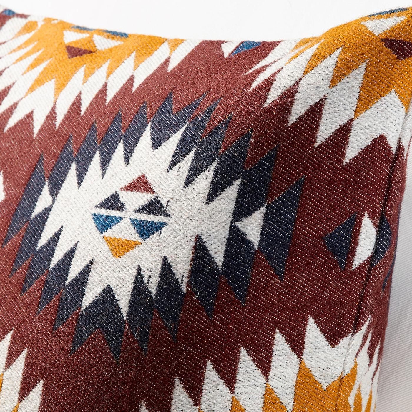 FRANSINE Funda de cojín multicolor 50x50 cm