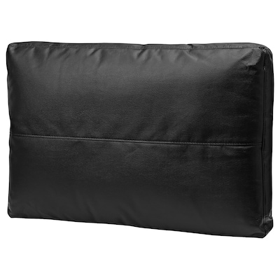 FRIHETEN Cojín, Bomstad negro, 67x47 cm