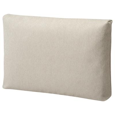FRIHETEN Cojín, Hyllie beige, 67x46 cm