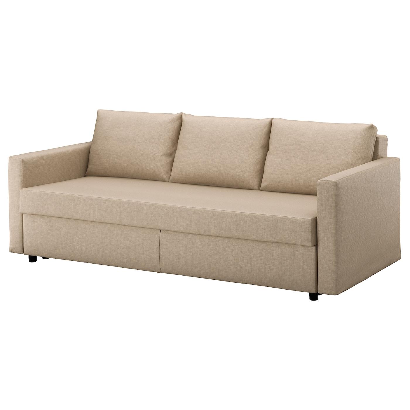 Ikea Friheten Sofá Cama 3 Plazas Se Convierte Fácilmente En