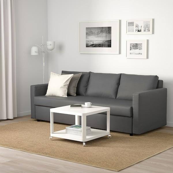 FRIHETEN Sofá cama 3 plazas, Skiftebo gris oscuro