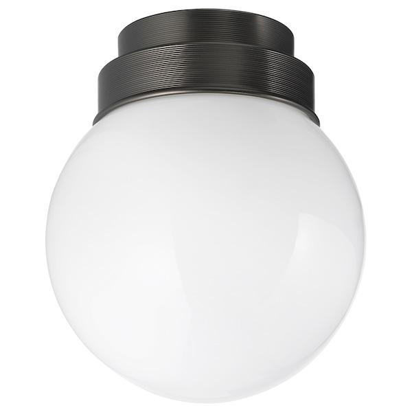 FRIHULT Lámpara de techo/pared, negro