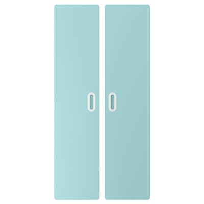 FRITIDS Puerta, azul claro, 60x128 cm 2 unidades