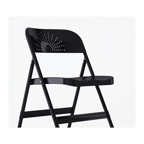Sillas plegables comodas silla plegable en color morado - Silla director ikea ...