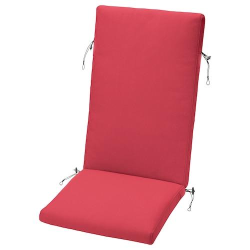 FRÖSÖN/DUVHOLMEN cojín respaldo/asiento ext rojo 116 cm 45 cm 71 cm 42 cm 5 cm