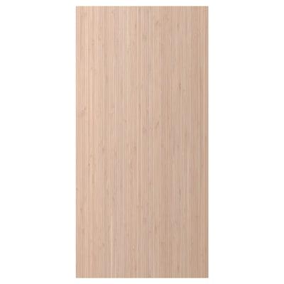 FRÖJERED Panel lateral, bambú claro, 39x80 cm
