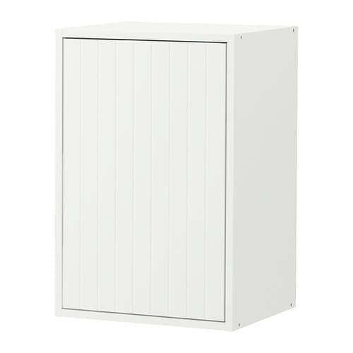 Fyndig armario de pared con puerta blanco con dise o ikea - Ikea diseno armario ...