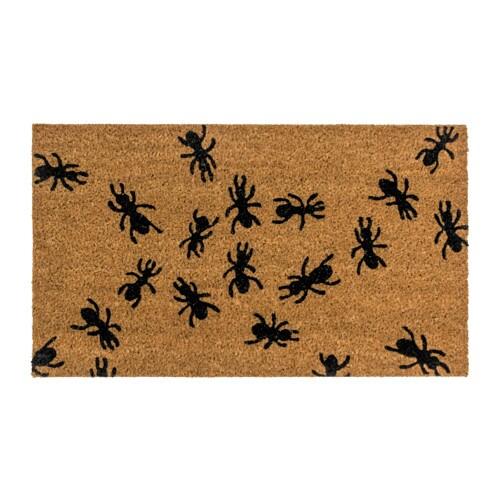 Felpudo hormigas.