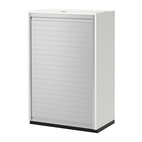 Galant armario de puerta persiana blanco ikea - Armarios exterior ikea ...