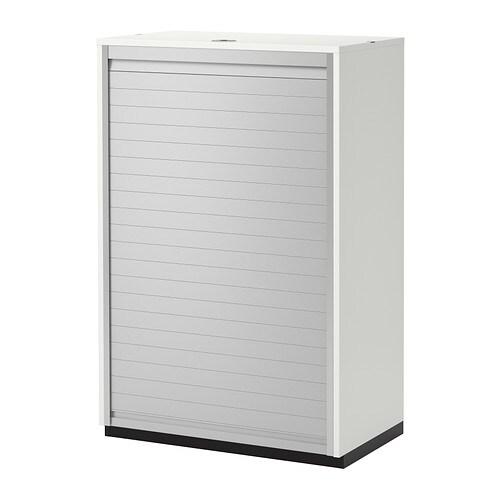 Galant armario de puerta persiana blanco ikea - Ikea cajonera armario ...