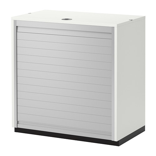 Galant armario de puerta persiana blanco ikea for Armario 2 puertas ikea