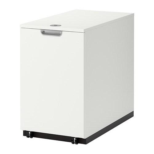 Cajoneras y almacenaje para espacios de trabajo ikea for Mobili per computer ikea