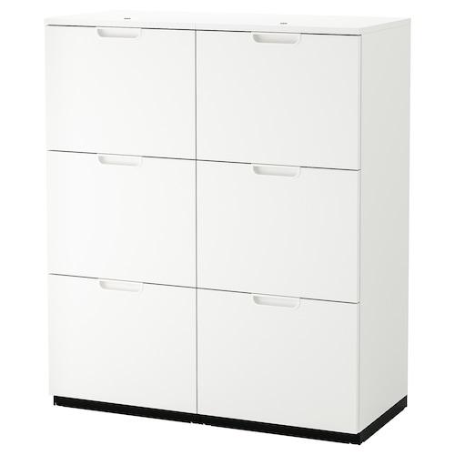 GALANT almacenaje carpetas blanco 102 cm 45 cm 120 cm