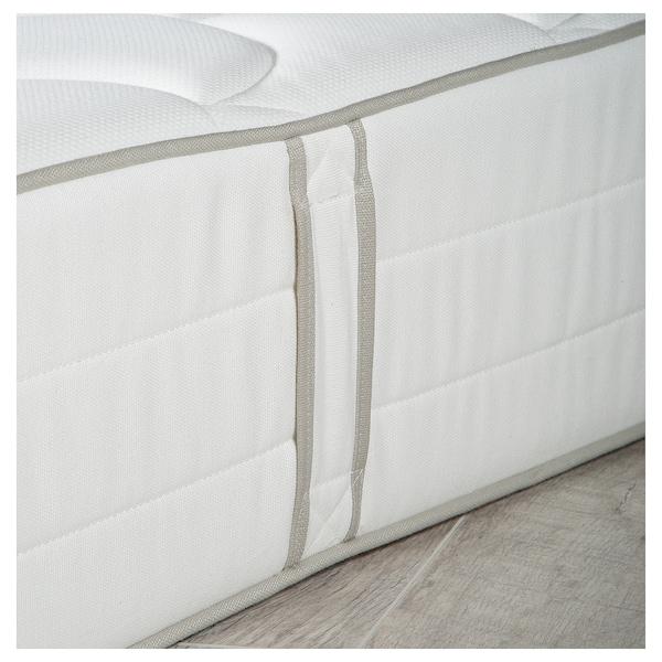 GERESTA colchón de muelles firme/blanco 190 cm 150 cm 25 cm