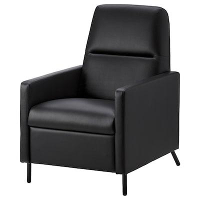 GISTAD Sillón relax reclinable, Bomstad negro