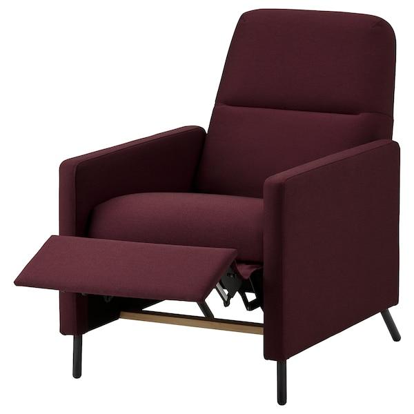 GISTAD Sillón relax reclinable, Idekulla rojo oscuro