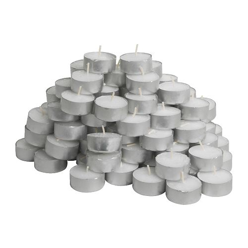 GLIMMA N  - Unscented tealight, 100pack