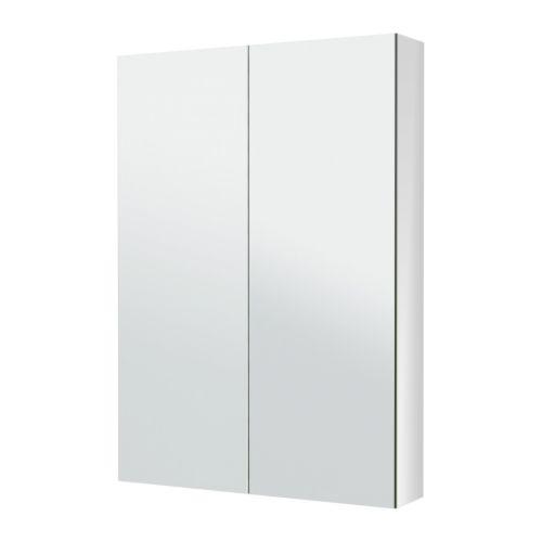 Godmorgon armario espejo 2 puertas 80x14x96 cm ikea - Puertas para armarios ikea ...