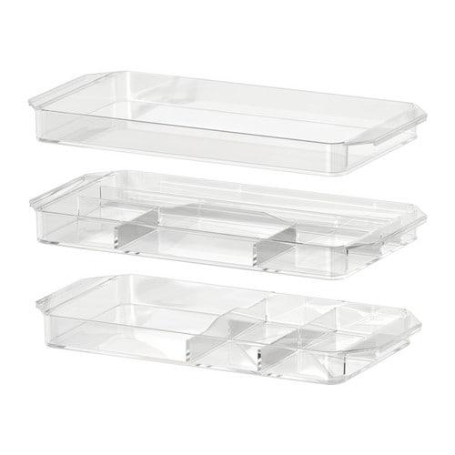 GODMORGON Bandeja c/compartimentos, j 3 IKEA 10 años de garantía. Consulta las condiciones generales en el folleto de garantía.