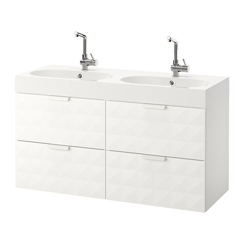 godmorgon br viken armario lavabo 4cajones resj n blanco ikea. Black Bedroom Furniture Sets. Home Design Ideas