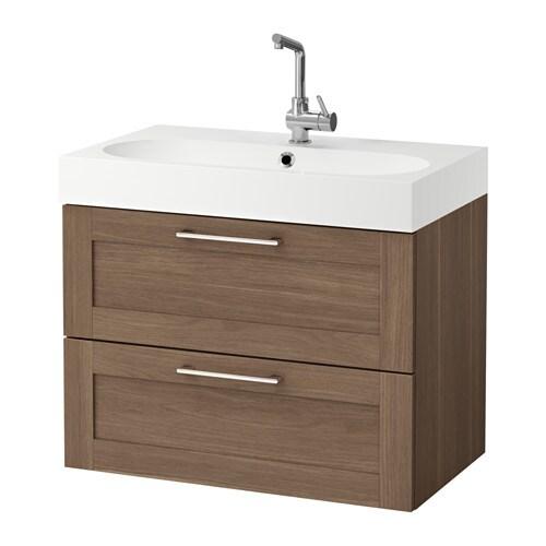 Godmorgon br viken armario lavabo 2 cajones efecto - Armario lavabo ikea ...