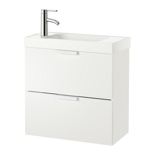 Godmorgon hagaviken armario lavabo 2 cajones blanco ikea - Cajones armario ikea ...