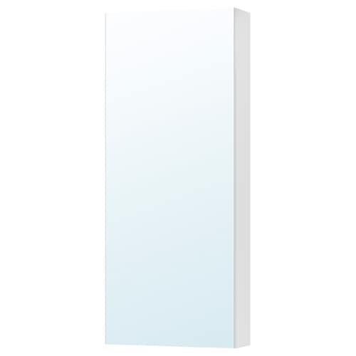 GODMORGON armario con espejo, 1 puerta 40 cm 14 cm 96 cm