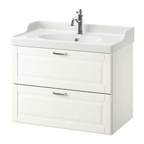 GODMORGON / RÄTTVIKEN Armario lavabo 2 cajones IKEA 10 años de garantía. Consulta las condiciones generales en el folleto de garantía. - IKEA