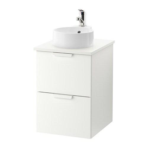 Godmorgon tolken gutviken armario lavabo 29 encimera blanco blanco ikea - Armario lavabo ikea ...