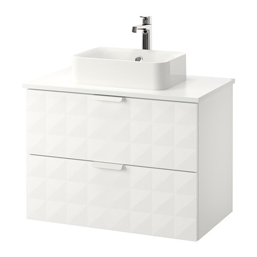 Adesivo Moveis Mdf ~ GODMORGON TOLKEN HÖRVIK Armario lavabo +encimera blanco, Resjön blanco IKEA