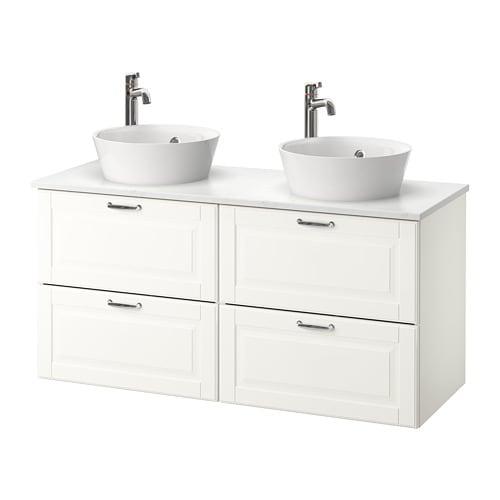 Godmorgon tolken kattevik mueble lavabo encimera40 kasj n blanco ikea - Mueble blanco ikea ...