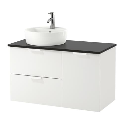 Godmorgon tolken t rnviken armario lavabo 45 antracita ikea - Armario lavabo ikea ...