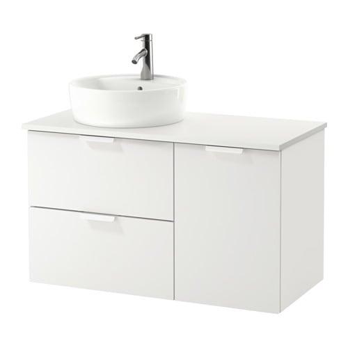 Godmorgon tolken t rnviken armario lavabo 45 blanco - Armario lavabo ikea ...