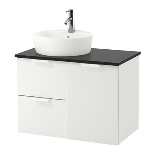 Godmorgon tolken t rnviken armario lavabo 45 antracita - Armario lavabo ikea ...