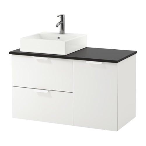 Godmorgon tolken t rnviken armario lavabo 45x45 antracita 102x49x72 cm ikea - Armario lavabo ikea ...