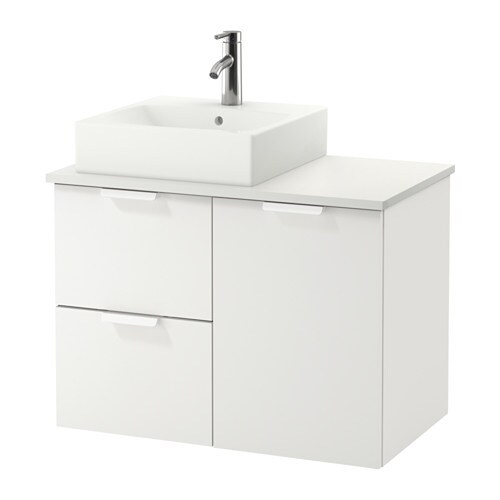 Adesivo Moveis Mdf ~ GODMORGON TOLKEN TÖRNVIKEN Armario lavabo 45×45 blanco IKEA